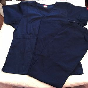 1 set of Dickies scrubs